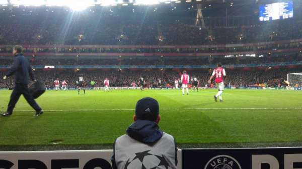 Emirates Stadium, section: 31, row: 1