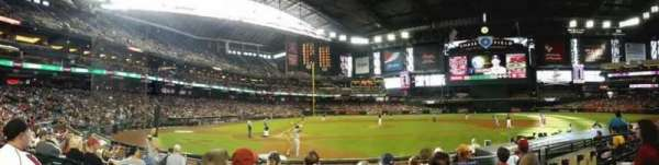 Chase Field, section: G, row: H, seat: 10