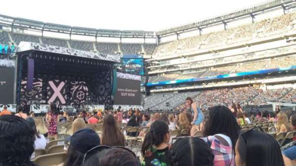 MetLife stadium, section: 11, row: 24, seat: 5