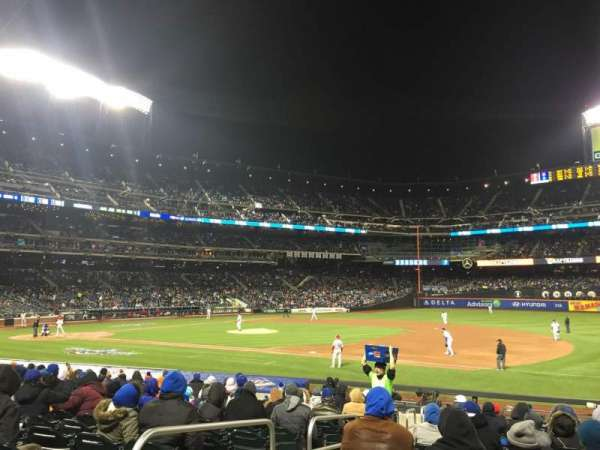 Citi Field, section: 111, row: 16, seat: 2