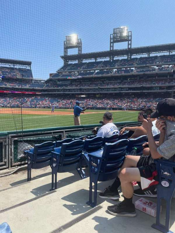 Citizens Bank Park, section: 136, row: 5, seat: 1