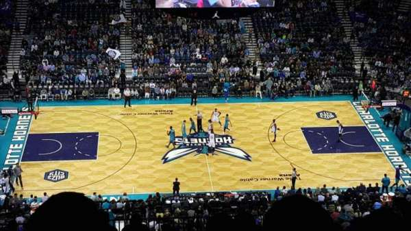 Spectrum Center, section: 209, row: Q, seat: 110