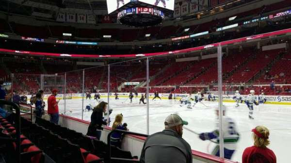 PNC Arena, section: 101, row: d, seat: 4