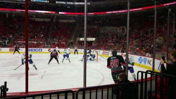 PNC Arena, section: 101, row: d, seat: 5