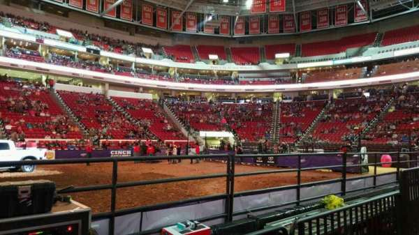 PNC Arena, section: 104, row: d, seat: 9