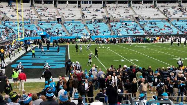 Bank of America Stadium, section: 136, row: 14, seat: 2
