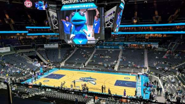 Spectrum Center, section: Suite 15, row: A, seat: 16