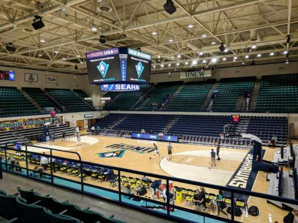 Trask Coliseum, section: 202, row: D, seat: 5