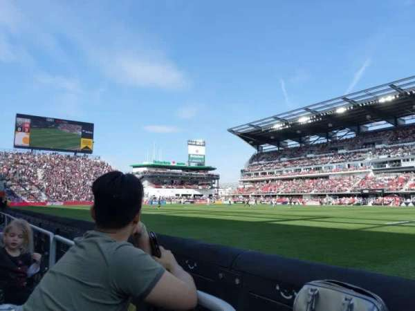 Audi Field, section: F22, row: 1, seat: 14