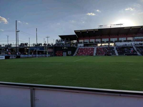 Toyota Field, section: 128, row: 1, seat: 17