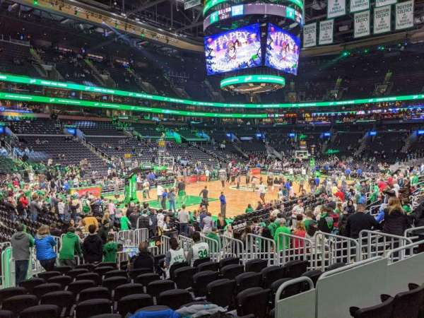TD Garden, section: loge 15