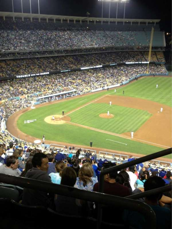 Dodger Stadium, section: 18RS, row: BB, seat: 22