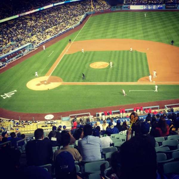 Dodger Stadium, section: 10RS, row: S, seat: 19