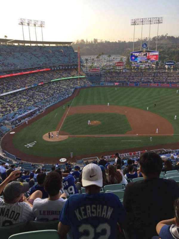 Dodger Stadium, section: 10RS, row: S, seat: 13