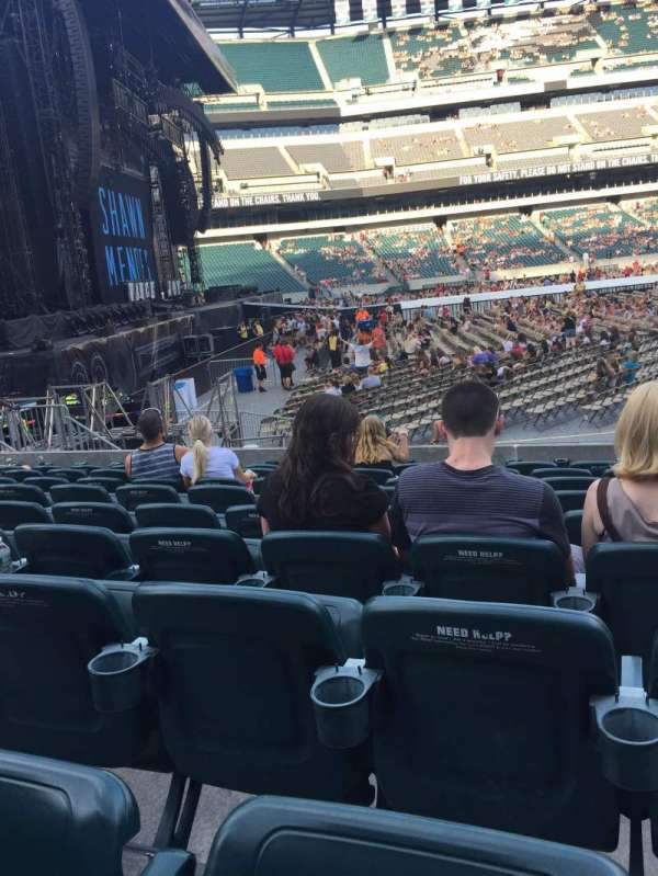 Lincoln Financial Field, section: 136, row: 9, seat: 5