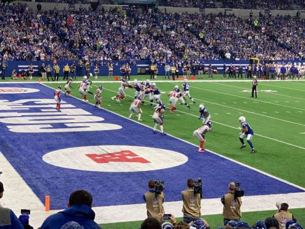 Lucas Oil Stadium, section: 145, row: 14, seat: 9
