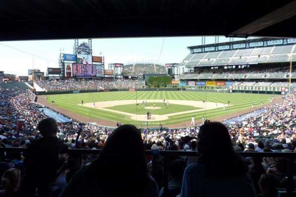 Coors Field, section: 130, row: WC, seat: Wheelchair