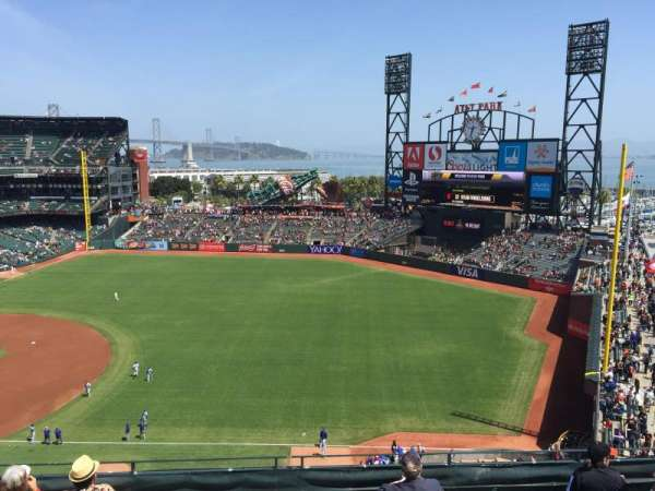 AT&T Park, section: 302, row: 2, seat: 11