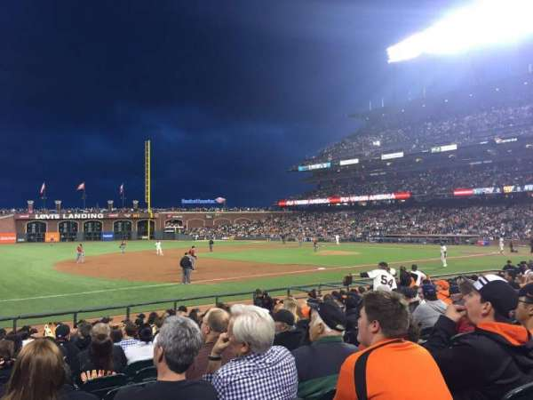 Oracle Park, section: 126, row: 14, seat: 13