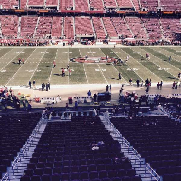 Levi's Stadium, section: C240, row: 1, seat: 5-6