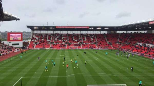 bet365 Stadium, section: 40, row: 32, seat: 935