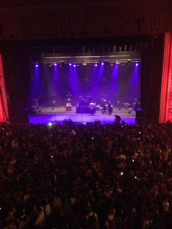 Tower Theater, section: Balcony, row: 2, seat: 2