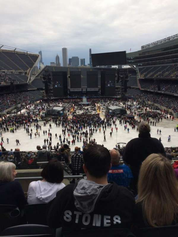 Soldier Field, section: 322, row: 10, seat: 3