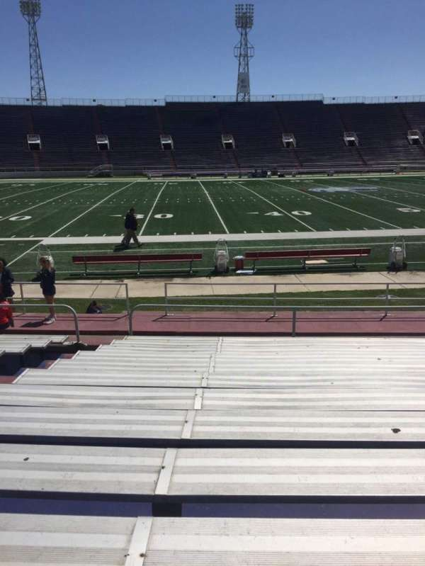 Ladd Peebles Stadium, section: G, row: 12, seat: 22