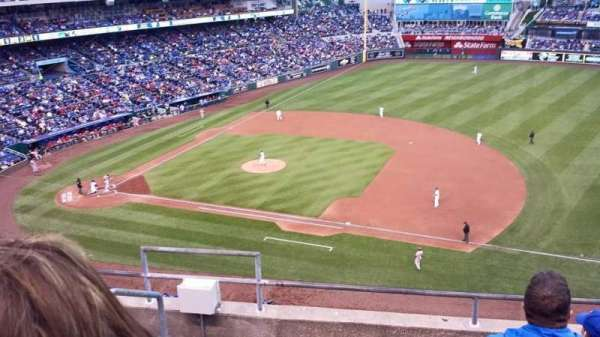 Kauffman Stadium, section: 431, row: F, seat: 1