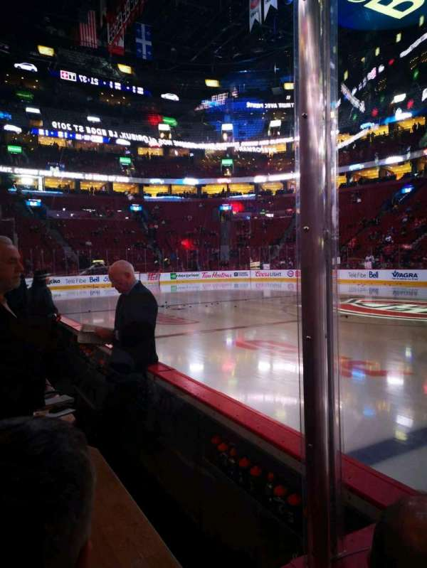 Centre Bell, section: 124, row: bb, seat: 5