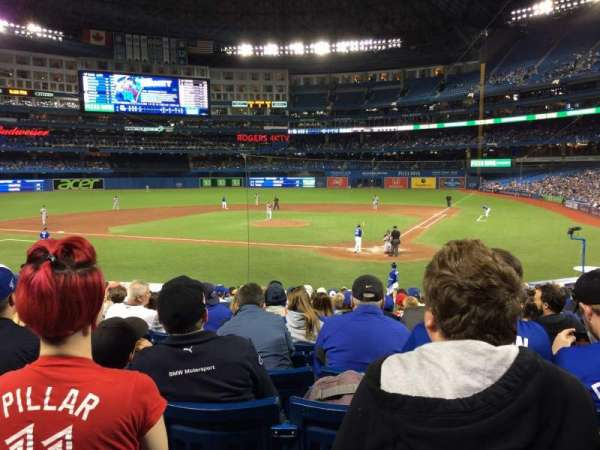 Rogers Centre, section: 123L, row: 23, seat: 108
