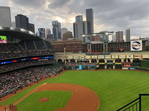 Minute Maid Park, section: 427, row: 5