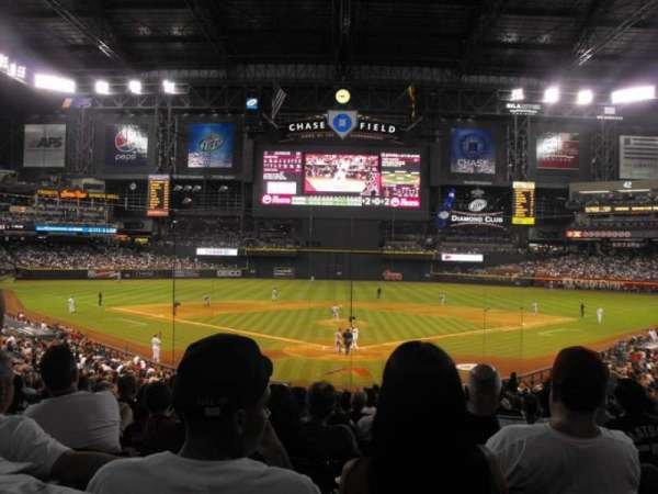 Chase Field, section: 122, row: 35