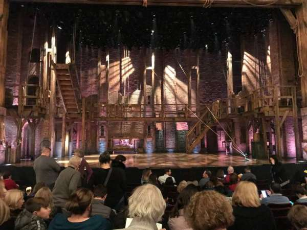 Richard Rodgers Theatre, section: Orchestra C, row: K, seat: 109
