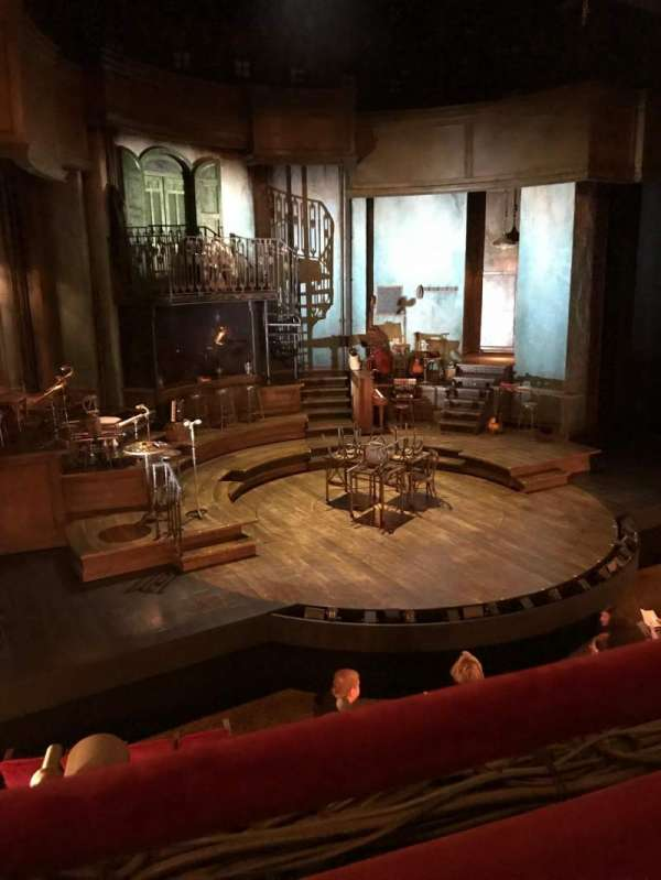 Walter Kerr Theatre, section: Mezzanine L, row: A, seat: 7