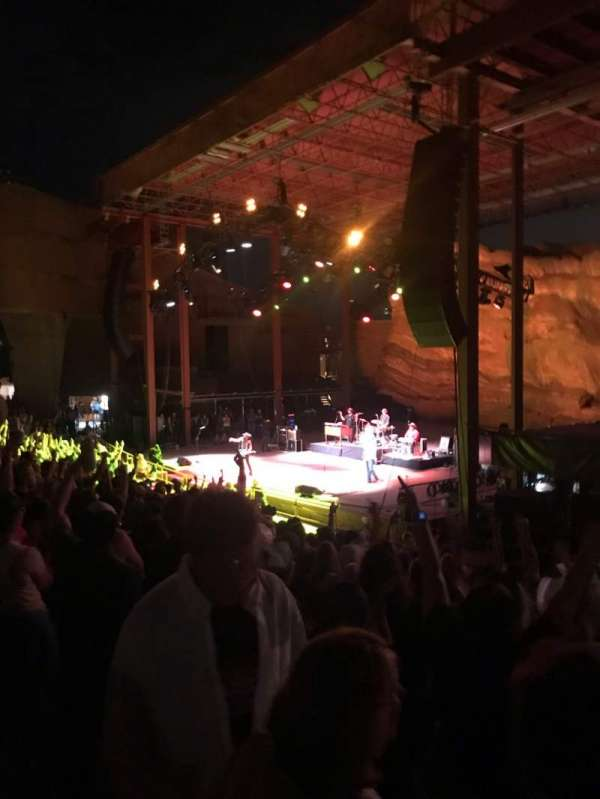 Red Rocks Amphitheatre, row: 11, seat: 3-6