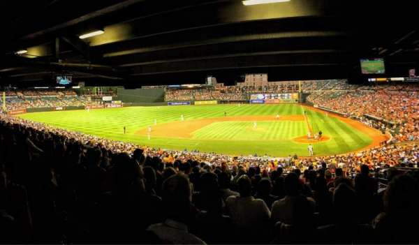 Oriole Park at Camden Yards, section: 47, row: 13, seat: 4