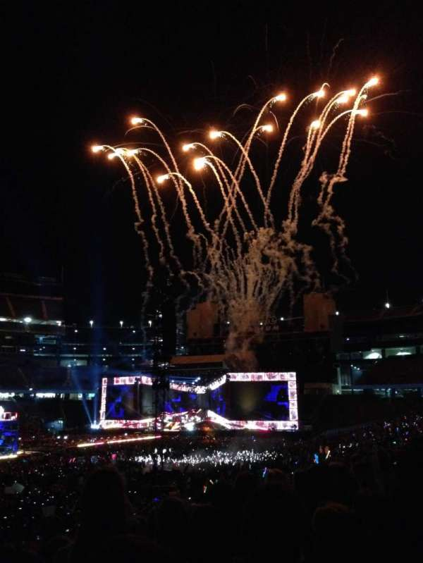 Gillette Stadium, section: 136, row: 21, seat: 14