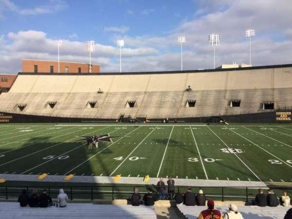 Vanderbilt Stadium, section: E, row: 19, seat: 18