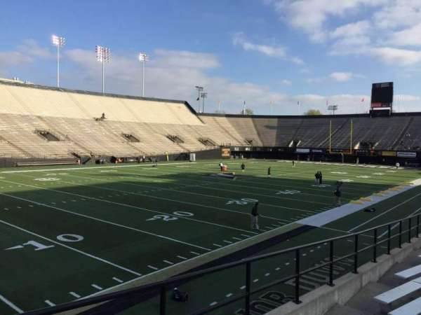 Vanderbilt Stadium, section: A, row: 16, seat: 18