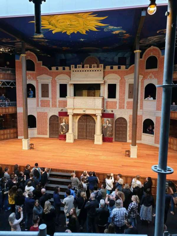 Pop-Up Globe Theatre (Perth Western Australia), section: mid level G, row: B, seat: 36