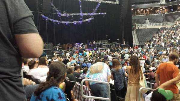 Barclays Center, section: 23, row: 8, seat: 16