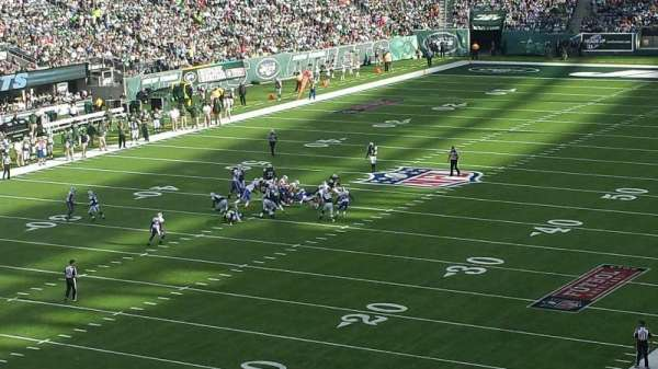 MetLife Stadium, section: 246A, row: 1, seat: 18