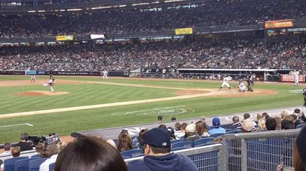 Yankee Stadium, section: 125, row: 15, seat: 3