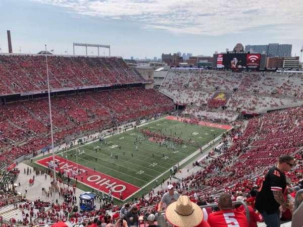 Ohio Stadium, section: 9C, row: 37, seat: 18