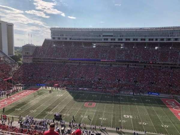 Ohio Stadium, section: 20c, row: 18, seat: 15-16