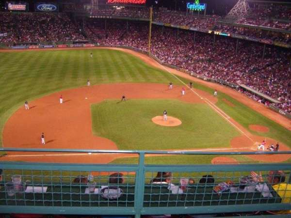 Fenway Park, section: Pavilion Club 8, row: 2