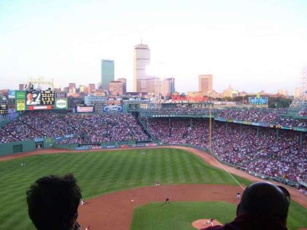 Fenway Park, section: SRO pavillion level, row: SRO pavill, seat: SRO pavillion
