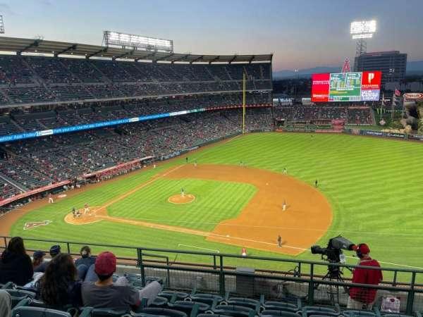 Angel Stadium, section: 426, row: H, seat: 17