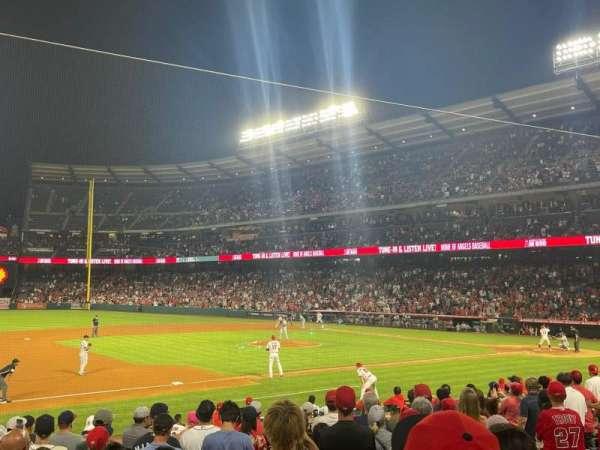 Angel Stadium, section: 110, row: N, seat: 11